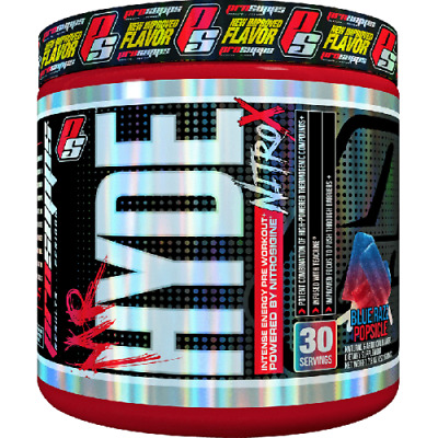 ProSupps MR Hyde Nitro X , Explosive Preworkouts 30 Servings , All Flavours,,