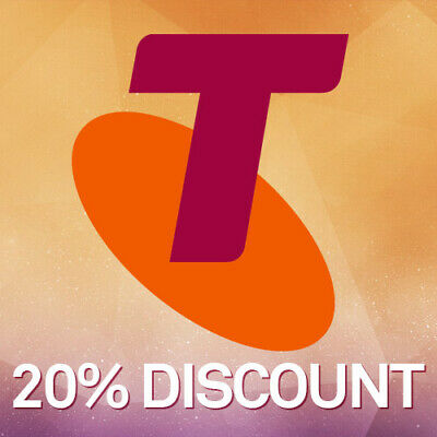 Telstra Prepaid Recharge Vouchers (20% Discount) for Mobile, Phone and Internet