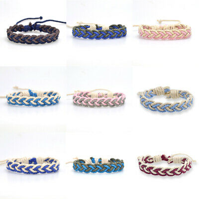 Fashion Girl's Hemp Rope Weave Bracelet Simple Accessories Jewelry Gift