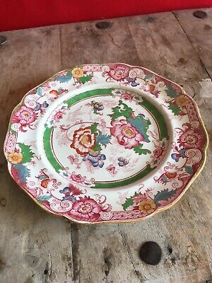 ANTIQUE CAULDON DECORATIVE/CABINET PLATE Floral Vintage Pretty