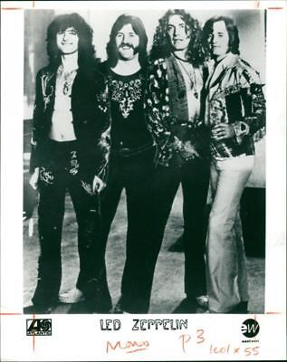 The Led Zeppelin Rock Band. - Vintage photo