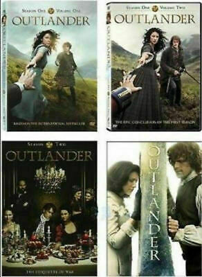 Outlander:The Complete Seasons 1-4 4 DVD Sets NEW Series Vol.1 2