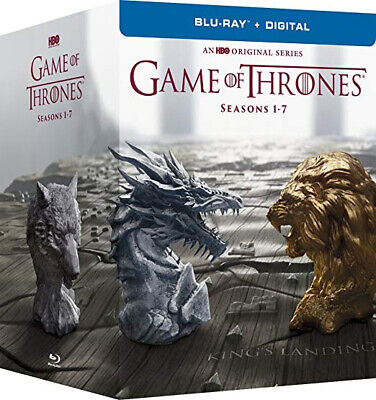 GOT Game Of Thrones The Complete Seasons 1-7 Box Set DVD (Blu-ray + Digital) NEW