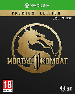 Mortal Kombat 11 Premium Collection Xbox One brand new official sealed