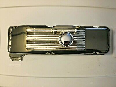 Opel GT 1.9 1900 Black Chromed Aluminum Valve Rocker cover  Kadett Ascona Manta