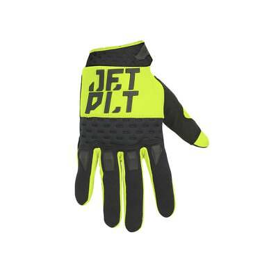 Gants - Jetpilot Matrix /RX Glove Full Finger jaune/noir - M