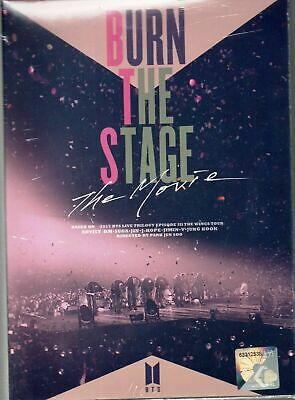 KOREAN MOVIE DVD BTS Burn The Stage The Movie 2018 (Malaysia