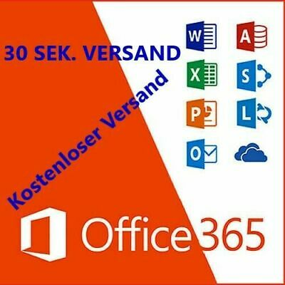 Microsoft Office 365 2016 / 2019 Lizenz Vollversion PC / Mac LIFETIME