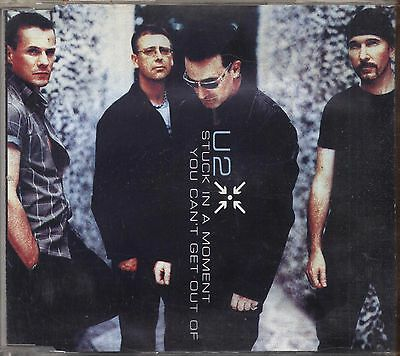 U2 Stuck in a moment you can't get out of CDs SINGLE 2000 USATO 3 TRACKS USATO