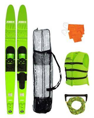 "Pack skis aqua - Jobe Allegre 67"" Combo Skis Lime Green Package"