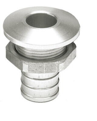 "Sortie pompe cale alu 3/4"" - Straight Bilge Fitting - Hot Products"