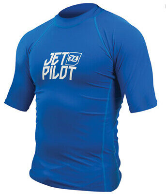 Lycra paddle, jetski, wake Logo Rash Guard Men Bleu - JetPilot - 2XL
