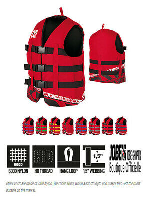 Gilet jet-ski Mixte - Jobe Heavy Duty Vest Red - XXL - 2XL