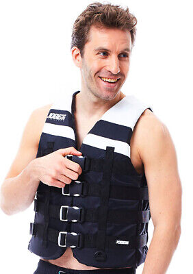 Gilet jet-ski Mixte - Jobe 4 Buckle Vest Black - 2XL
