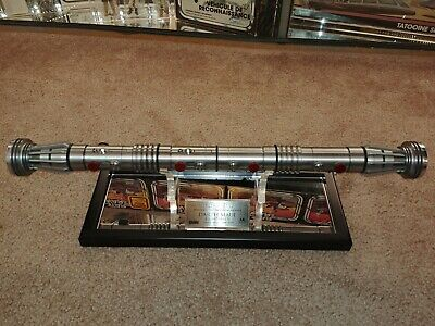 Star Wars Master Replicas SW-108 Darth Maul Lightsaber TPM 1:1 #446/3000