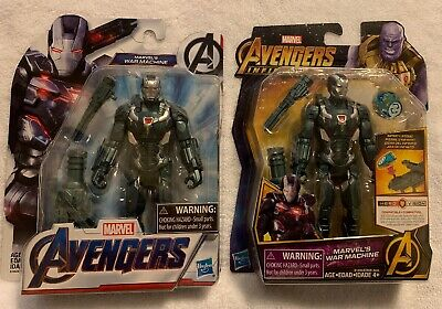 "Marvel Avengers Endgame & Infinity War 6"" inch War Machine Action Figures Set"