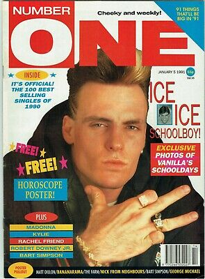 Vanilla Ice - Number One - January 5 1991