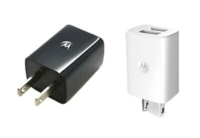 OEM Motorola Universal Dual USB Power Adapter 2Port Wall Travel Charger SPN5797A