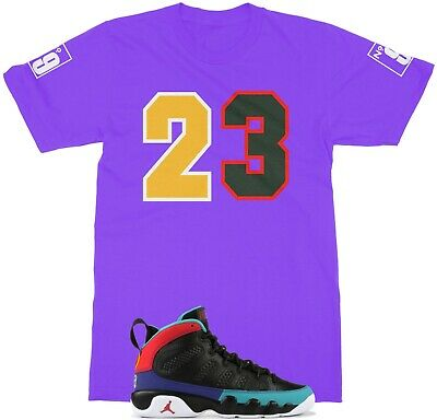 c82bc56743d GRAPHIC T SHIRT To match Air Jordan 9 Dream It Do It Shoe Mens Tee ...