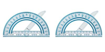 2 Pack Fiskars Plastic Swing Arm Protractor