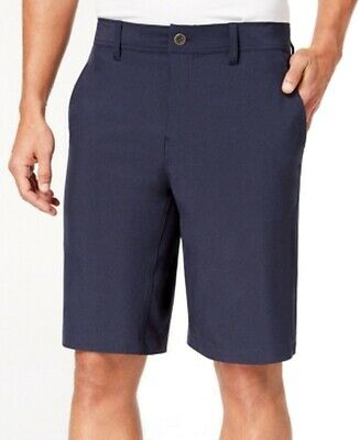 1cf786422d 32 Degrees NEW Blue Navy Mens Size 34 Performance Flat Front Stretch Shorts  #120