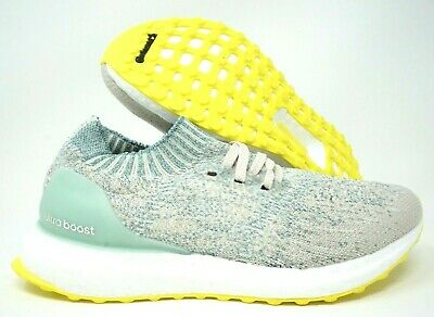 79e8d4934 Adidas Ultraboost Uncaged GS Womens Running Shoes White Green 5Y 6.5 Womens