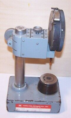 Hamilton Comparator Stand And Dial Indicator -  Federal E3BS-R1  .0001