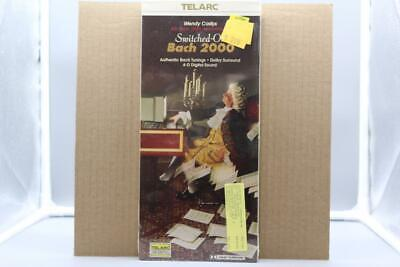 Wendy Carlos  Switched-On Bach 2000  Telarc CD-80323 CD LONGBOX SEALED