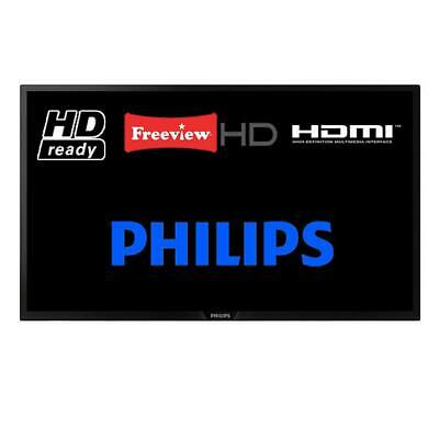 """Philips 32PHT4012/05 32"""" LED TV HD Ready 720p Freeview HD HDMI Missing Stand"""