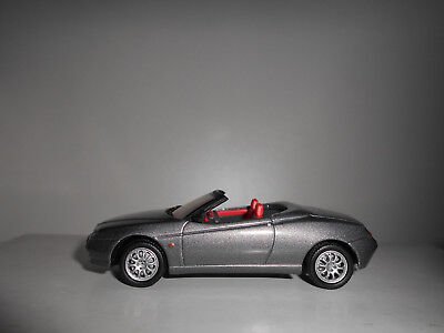 Alfa Romeo Spider 1995 Grey Luxe Box Alfa Dealer Solido 1:43
