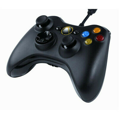 Brand New Official Microsoft XBOX 360 PC Wired Controller Worldwide FreeSHIP