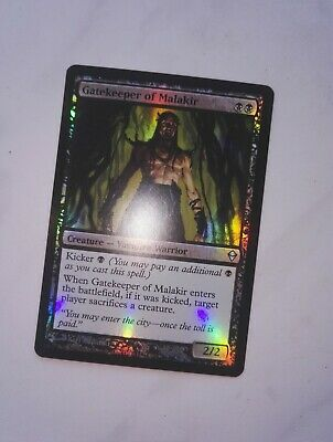 1 PROMO PLAYED FOIL Gatekeeper of Malakir Black FNM Friday Night Magic Mtg Mag