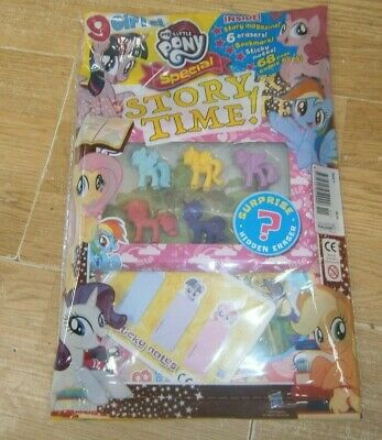 My Little Pony magazine Special #11 2019 + 6 Erasers, Bookmark, Sticky Notes