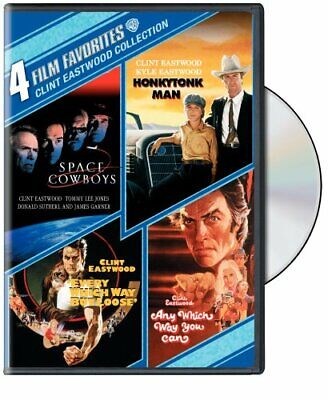4 Film Favorites: Clint Eastwood [DVD] NEW!