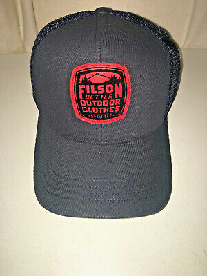 4ef011e57 New Filson Limited Edition Buckshot Twill Mesh Cap One Size