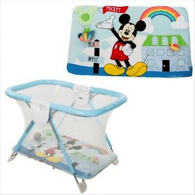 Box Primi Sogni Disney Holiday Safe & Fun Mickey Con Tappeto Gioco