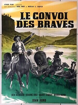 JOH0204320141 BEN JOHNSON /& JOANNE DRU REF PHOTO LE CONVOI DES BRAVES