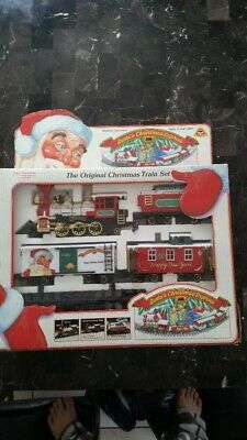 VINTAGE NEW BRIGHT Train Denver Express Open Door Box Car G ...