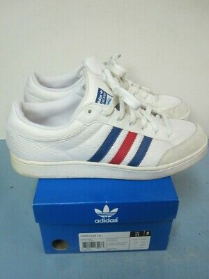 Adidas Originals mens American Lo White,Royale,Red Size 11 Sneaker In Box