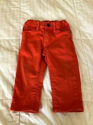 Baby Gap 1969 Baby Boy Skinny Jeans 12-18 months old w/adjustable straps SP19A
