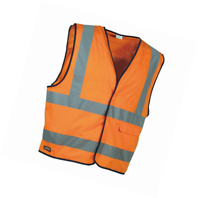 Cofra Safety Vest V Clear 073-1 High Visibility 4XL, in the warning colour orang
