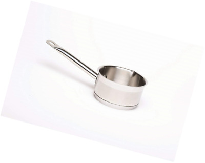 Genware NEV-MP1414 Milk Pan with Pouring Lips, 1 L, 14 cm Diameter, 9 cm Height