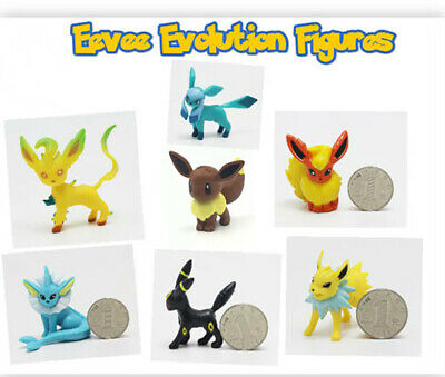 Eevee Figure Umbreon Leafeon Glaceon Jolteon Flareon Pokemon GO Kids Party