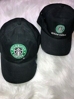 f7ea8d7965fda Lot Of 2 Starbucks Coffee Barista Hats Official One Is Brand New Ready To  Wear
