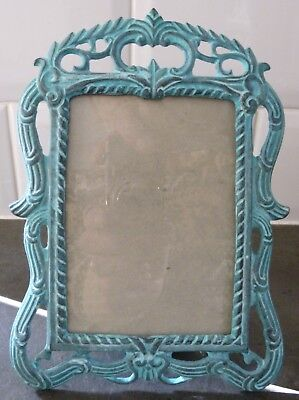 """CAST IRON PICTURE FRAME..3.5"""" x 5""""..BOXED"""