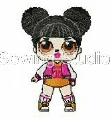 Lol Surprise Dolls Designs - Machine Embroidery Designs On Cd Or Usb