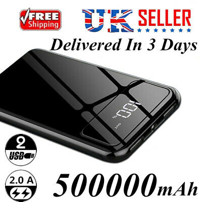 Popular Power Bank 500000mAh Party Emergency External Battery Charger Dual USB