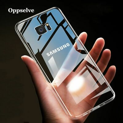 Transparent Soft Silicone Case For Samsung Coque Opselve  Note 9 8 S9 S8 S10 New