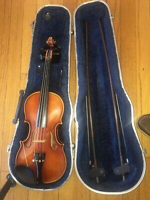 E. R. Pfretzschner Vintage 1/2 Size Violin Copy of Antonius Stradivarius
