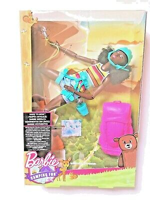 Barbie Made to Move the Ultimate Posable Rock Climber Doll AA *NEW*